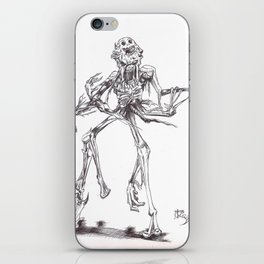 Undead corpse iPhone Skin