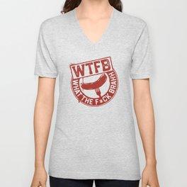 Official WTFBrahh Logo Unisex V-Neck