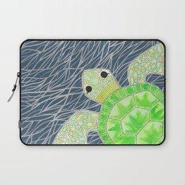 Tortu the Sassy Turtle Laptop Sleeve