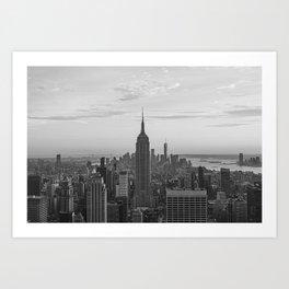 Empire State Building II Art Print