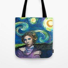 Starry StarWarz Tote Bag