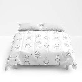 Minimalist Xmas Pattern Comforters