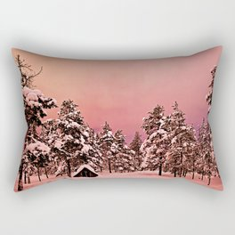 Magic of frozen forest Rectangular Pillow