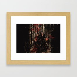 Outlaw Queen - Prince of Thieves and The Queen Framed Art Print