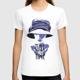 Time After Time Bleu T-shirt