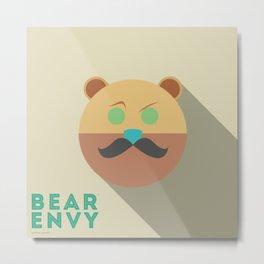 Bear Envy Metal Print