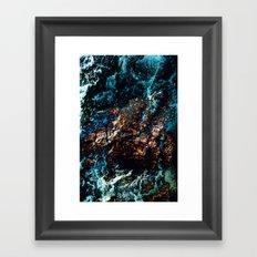 A Sudden Freeze Framed Art Print