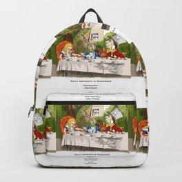 "John Tenniel, "" Alice's Adventures in Wonderland "",color ver.2 Backpack"