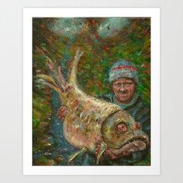 catch Art Print