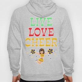 Cheerleader Cheerleading Gift Dance Football Hoody