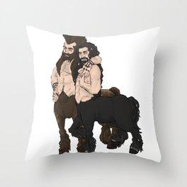 centaurs Throw Pillow