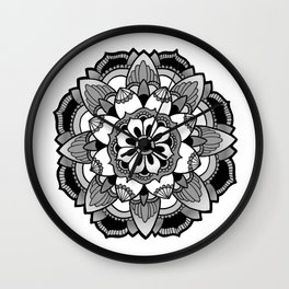 Mandala V4 Wall Clock