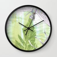 bugs Wall Clocks featuring Bugs by Marlidesigns