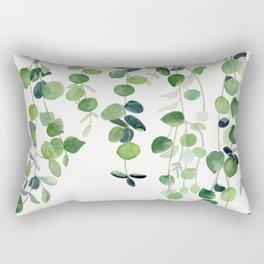 Eucalyptus Watercolor 2  Rectangular Pillow