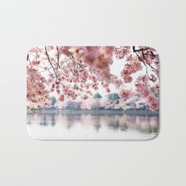 Cherry Blossoms on the Tidal Basin Bath Mat
