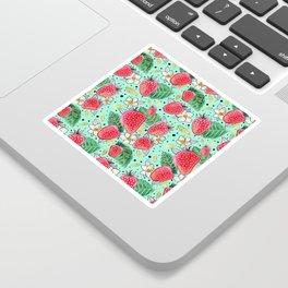 Strawberry Garden Sticker