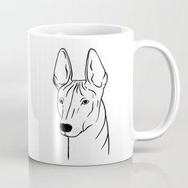 Xoloitzcuintli (Black and White) Coffee Mug