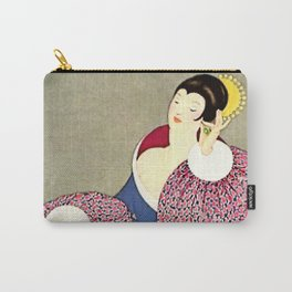 George Wolfe Plank Art Deco Magazine Cover #13 Carry-All Pouch