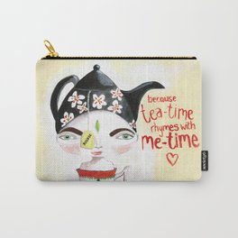 Miss Tea-Time Carry-All Pouch
