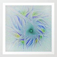 Whispy Willow Art Print