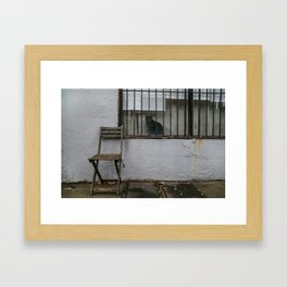 Empty Seat Framed Art Print