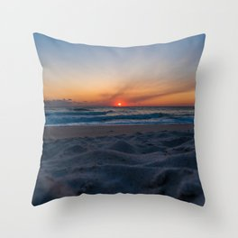 Cape Canaveral Sunrise Throw Pillow