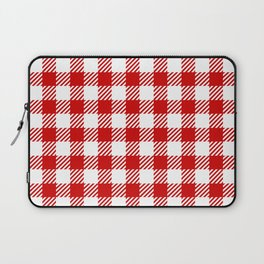 Red Vichy Laptop Sleeve