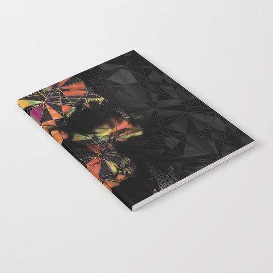 Geometric Skull Notebook