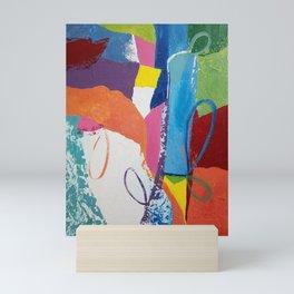 Vibrant Loopy Abstract Mini Art Print
