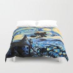 Potter Starry Night Duvet Cover
