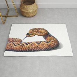 Rattlesnake Portrait Rug