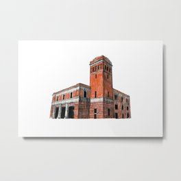 FIRE STATION NO. 3 Metal Print
