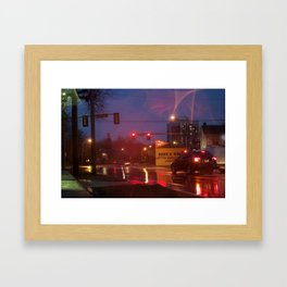 Geddes Ave Framed Art Print