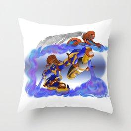 Tagger Throw Pillow