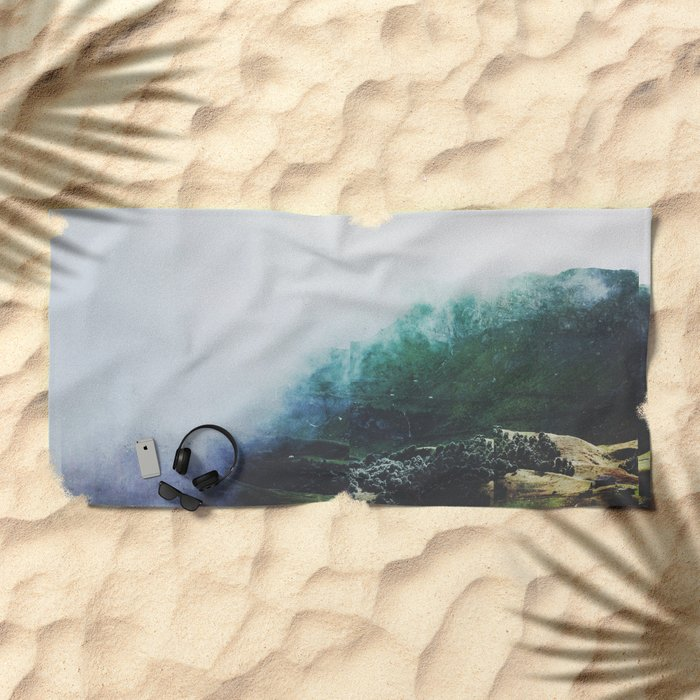 Fractions A46 Beach Towel