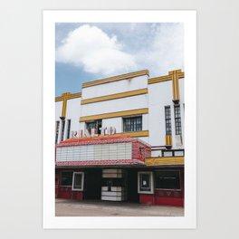 Abandoned Theatre Art Print