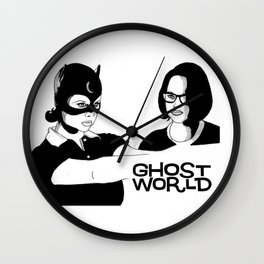 Ghost World Wall Clock