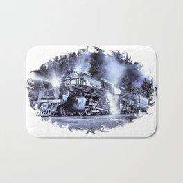 Ghost Train. © J&S Montague. Bath Mat