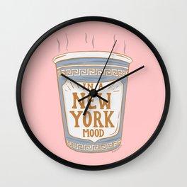 NEW YORK MOOD Wall Clock