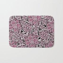Wildflowers (Blushing Magenta) Bath Mat
