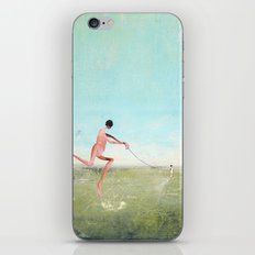 spaziergang mit ego iPhone & iPod Skin
