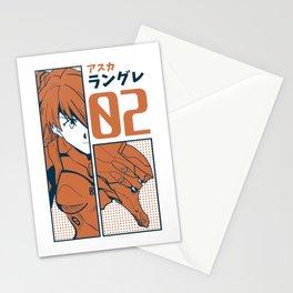 Asuka Langley Evangelion Stationery Cards