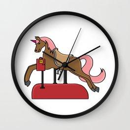Children horse Pony Horse riding gift present Wall Clock
