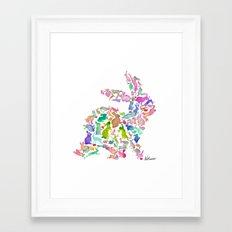 Soul Bunny - Spring Time Framed Art Print