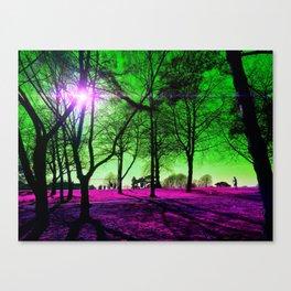 Dream Jog Canvas Print