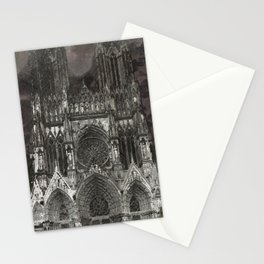 Cathedral Storm Stationery Cards