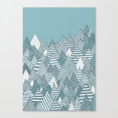 Winterly Forest Canvas Print