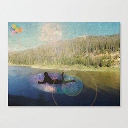 Balloon Trails Canvas Print
