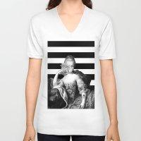 illuminati V-neck T-shirts featuring Illuminati. Illuminati. Illuminati. by Jaz Henry