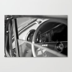 Car Cockpit 09 Canvas Print